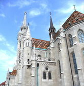 Matthias Church at Buda Castle — Stock Photo