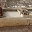 Second Temple. Model of the ancient Jerusalem. — Stock Photo #18216947