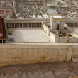Second Temple. Model of the ancient Jerusalem. — Stock Photo