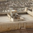 Second Temple. Model of the ancient Jerusalem. — Stock Photo #18217029