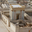 Second Temple. Model of the ancient Jerusalem. — Stock Photo #18218009
