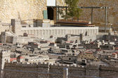 Model of the ancient Jerusalem. — Stock Photo