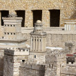 Towers of Herod (Fasael, Gippikus and Mariamne) in ancient Jerusalem. - Stock Photo