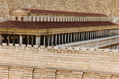 Basilica in Second Temple. Ancient Jerusalem. — Stock Photo