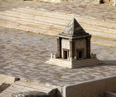 Hulda monument. Ancient Jerusalem — Stock Photo