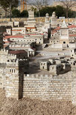 The palace of the High Priest Caiaphas and Herod — Stock Photo
