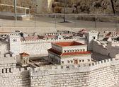 Palác Heroda v starověkého Jeruzaléma. — Stock fotografie