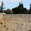 Wailing wall of Jerusalem city — Stock Photo #18778335