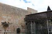 Kudüs şehri ağlama duvarı — Stok fotoğraf