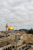 Wailing Wall and Dome of the Rock — ストック写真