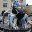 Glass Lion. Jerusalem. Israel - Stock Photo