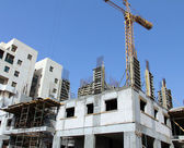 Construction of building — Stock Photo