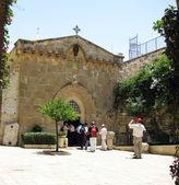 Via Dolorosa. Church of the crown of thorns. Jerusalem, — Stock Photo