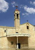 Orthodox Church of the Archangel Gabriel Church Nazareth — Stock Photo