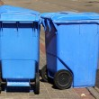 poubelles bleues — Photo #21468743