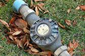 Water meter — Zdjęcie stockowe