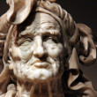 Stock Photo: Fate Atropos -Francesco dSangallo sculpture, Italian, 1570, Marble
