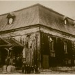 Royalty-Free Stock Photo: Retro photo of  old wooden synagogue  in Kornik, Poland, built in 1767