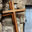 Holy Sepulchre Crosses, Jerusalem - Stock Photo