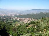 Romantic Tuscany landscape — Stock Photo