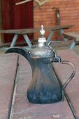 Arabic coffee pot — Stock Photo