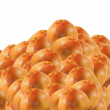 Grapefruits heap — Stock Photo