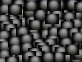 Gray black abstract mosaic background — Stock Photo