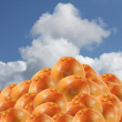 Rose Grapefruits   heap - Stockfoto