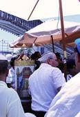 Celebrazioni durante una cerimonia del bar mitzvah — Foto Stock