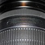 Black Lens — Stock Photo