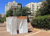 Jewish Holiday Sukkoth in Tel Aviv — Stock Photo