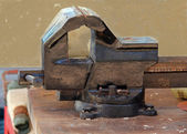 Bench vise — Stock Photo