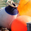 Buoy on the boat — Stock Photo