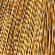 Thatched Roof of  Umbrella — Stockfoto