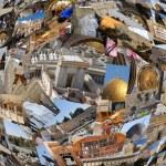 Welcome to Jerusalem background — Stock Photo #36359301