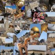 Welcome to Jerusalem background — Stock Photo