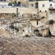 Village Silwan over ancient Jewish buildings and graves. — Stock Photo