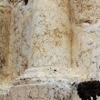 Column. Tomb of Zechariah. Jerusalem, Israel — Stock Photo