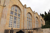 Facade of Church of All Nations . Jerusalem. Israel — Stock Photo