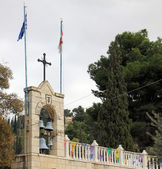 Outside View of the Tomb of the Virgin Mary. Jerusalem — Foto Stock