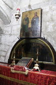 Chapel of Mary's parents, Joachim and Anne in the Tomb of the Virgin Mary. Jerusalem — Stok fotoğraf
