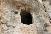 Ancient cave at the Kidron valley, — Stock Photo