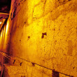Western Wall Tunnel. 485 metres. The biggest stone - 510 long tons — Stock Photo