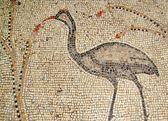 Tabgha mosaïque antique, israël — Photo