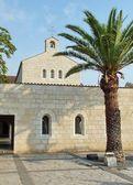 Church of Multiplication Facade in Tabgha — Stock Photo