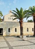 Church multiplication of the loaves and fishesю  Tabgha. Israel — Foto Stock
