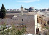 Monte del templo de jerusalén — Foto de Stock