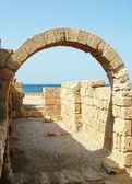 Ancient Arch. Caesarea — Photo