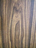 Artificial veneer with natural wooden pattern — Stock Photo