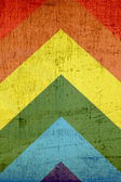 Colorful Grunge Paper Collage Background — Stock Photo